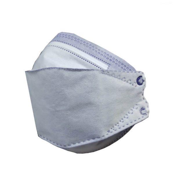 عکس تکی ماسک آبی سه بعدی
